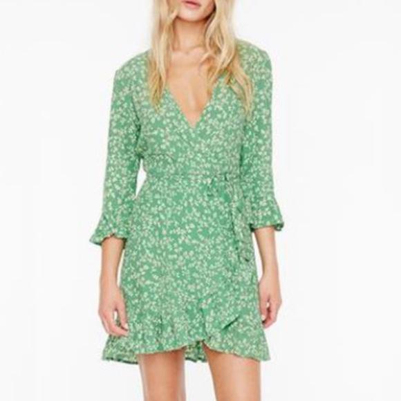 3796e40a81ed7 Faithfull The Brand (our of stock) mini warp dress